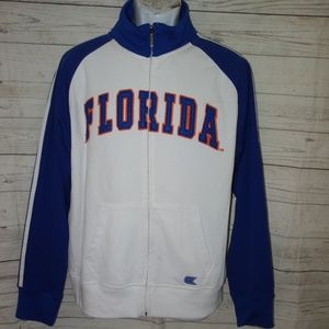 Florida Gators Zip Sweatshirt Men L Sports Logo